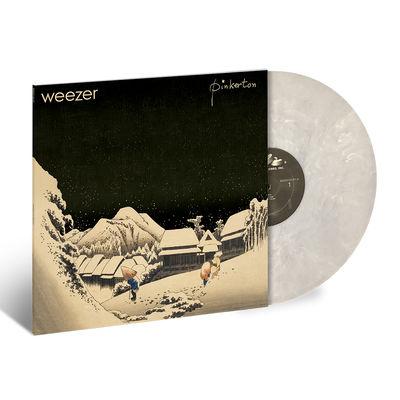 Weezer: Pinkerton: Exclusive Snowy Marbled White Vinyl
