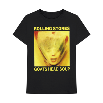 The Rolling Stones: GOATS HEAD SOUP COVER T-SHIRT