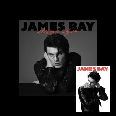 james bay: Exclusive Picture Disc Vinyl + Signed Postcard