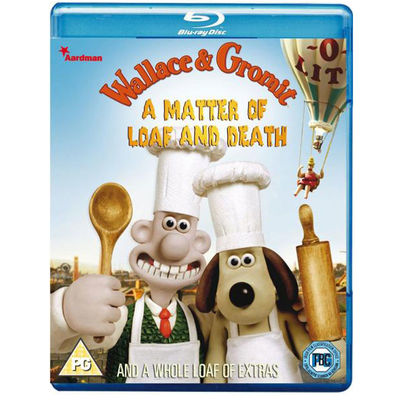 Wallace & Gromit: A Matter Of Loaf And Death Blu-ray