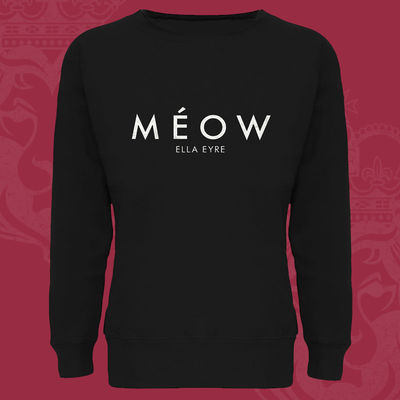 Ella Eyre: Méow Ladies Black Sweatshirt