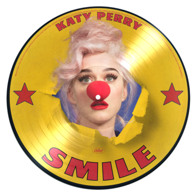 Katy Perry: Smile D2C Exclusive Picture Disc Vinyl