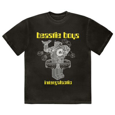 Beastie Boys: <b>BLACK INTERGALACTIC T-SHIRT</b>