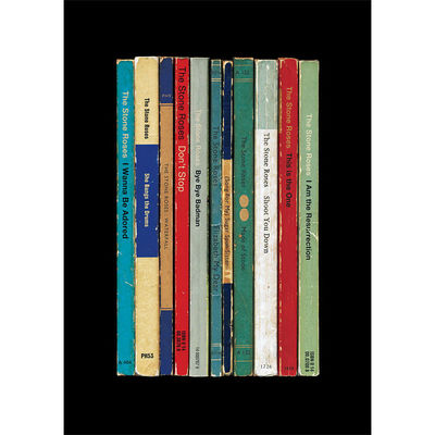 The Stone Roses: 'The Stone Roses' Albums As Books Art Print