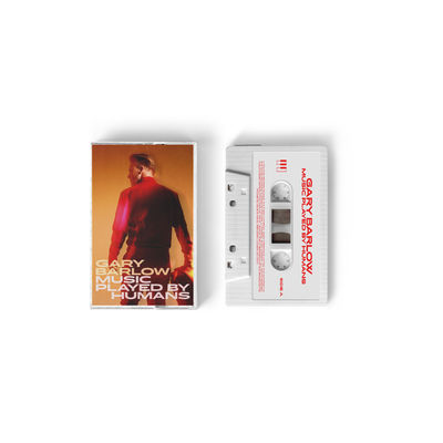 Gary Barlow: Limited Edition Music Played By Humans White Cassette - Store Exclusive