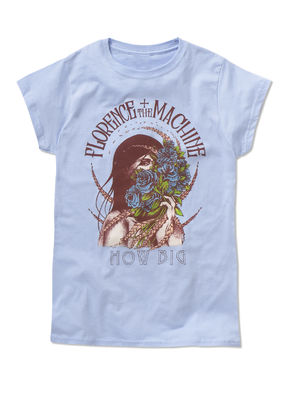 Florence + The Machine: Blue Roses Ladies Fit T-shirt