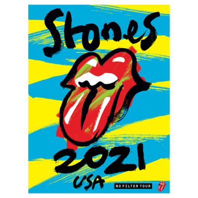 The Rolling Stones: No Filter 2021 Admat Lithograph
