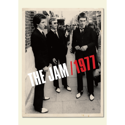 The Jam: The Jam 1977 Poster