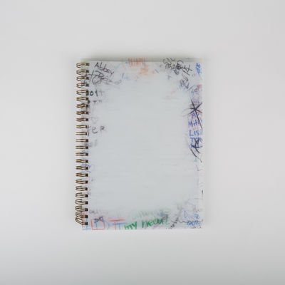 Abbey Road Studios: Abbey Road Graffiti Wall Ringed Notebook A5
