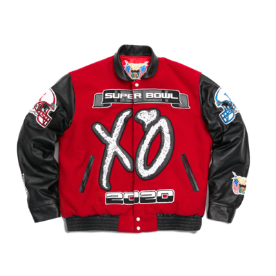 The Weeknd: SUPER BOWL LV - JEFF HAMILTON XO PREMIUM JACKET
