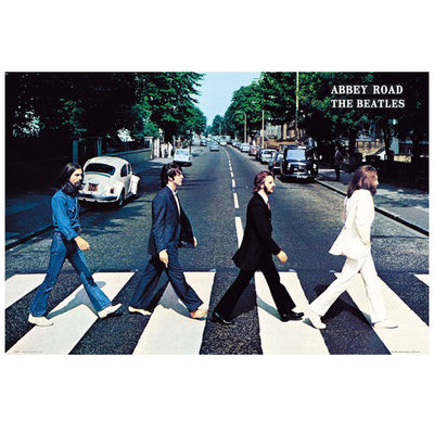 The Beatles: Abbey Road Poster