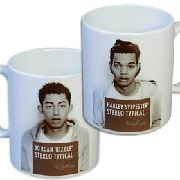 Rizzle Kicks: STEREO TYPICAL MUG