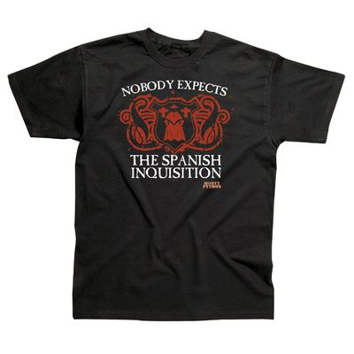 Monty Python: Spanish Inquisition Black T-Shirt