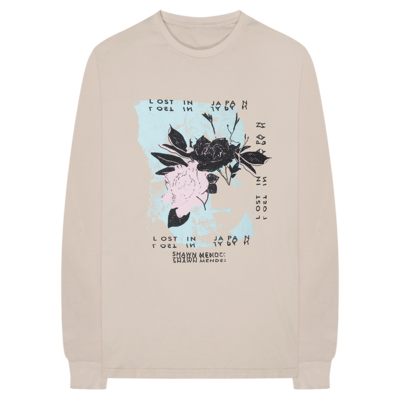 Shawn Mendes: Floral L/S T-Shirt + Digital Album