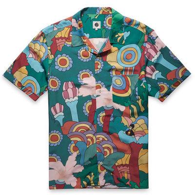 The Beatles: Floral Print Shirt