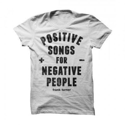 Frank Turner: Positive/Negative Tee