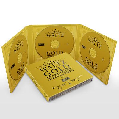 Various Artists: WALTZ GOLD – 50 GREAT TRACKS