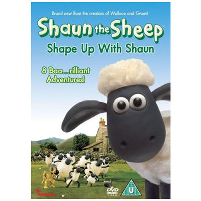 Shaun the Sheep: Shape Up With Shaun DVD