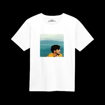 Jack Savoretti: Europiana White T-Shirt