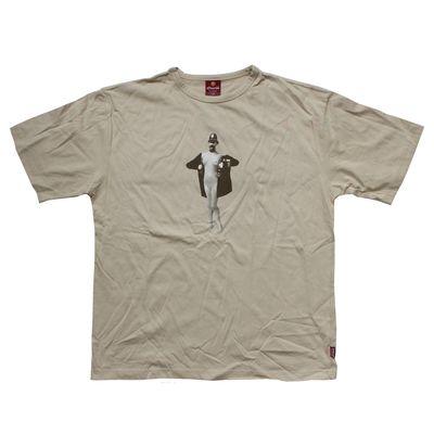 Monty Python: Naked Policeman Beige T-Shirt