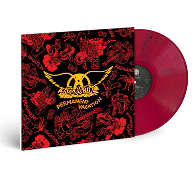 Aerosmith: Permanent Vacation: Exclusive Red & Black Marble Vinyl