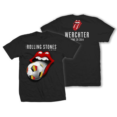 The Rolling Stones: Werchter World Cup Event T-Shirt