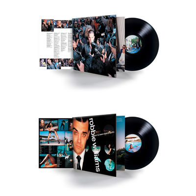 Robbie Williams: Life Thru A Lens + I've Been Expecting You Vinyl Reissue Bundle