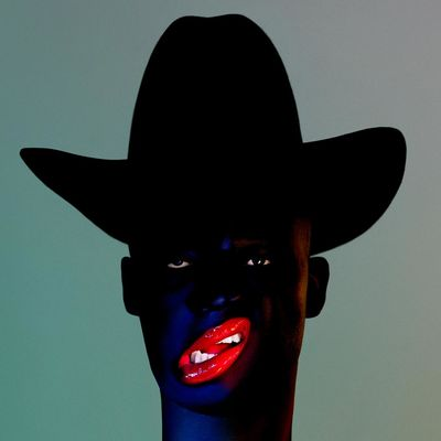 Young Fathers: Cocoa Sugar: Signed Blue Vinyl