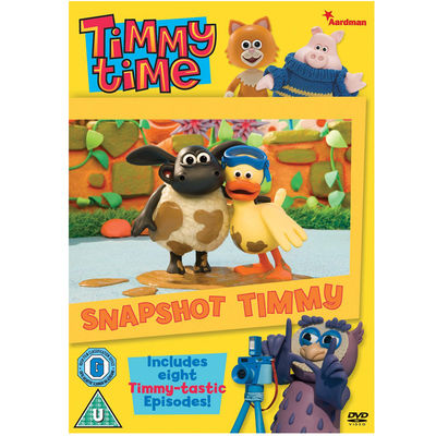 Timmy Time: Snapshot Timmy DVD