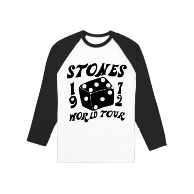The Rolling Stones: 1972 Dice Raglan