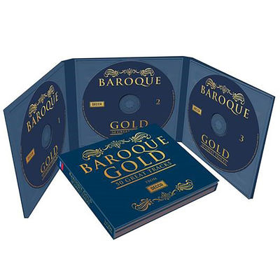 Various Artists: BAROQUE GOLD – 50 GREAT TRACKS
