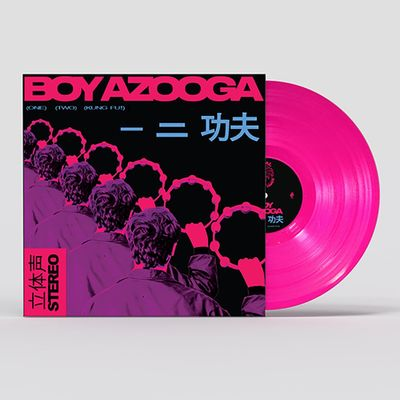 Boy Azooga: 1, 2, Kung Fu! Pink Vinyl