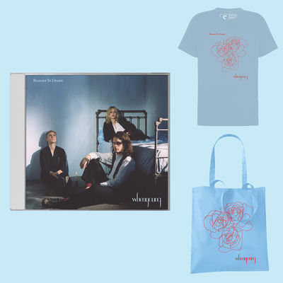 Whenyoung: Blue Tee / Blue Tote / CD Bundle