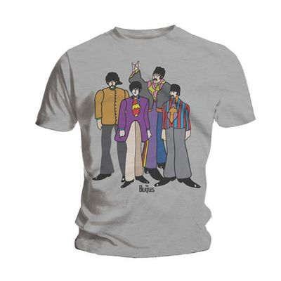 The Beatles: Submarine Grey T-Shirt