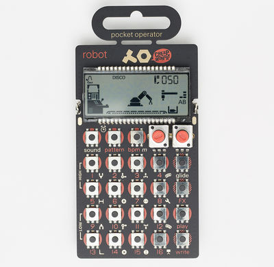 Abbey Road Studios: PO 28 Robot Pocket Synthesizer