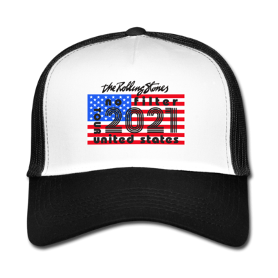 The Rolling Stones: No Filter 2021 On Tour Trucker Hat