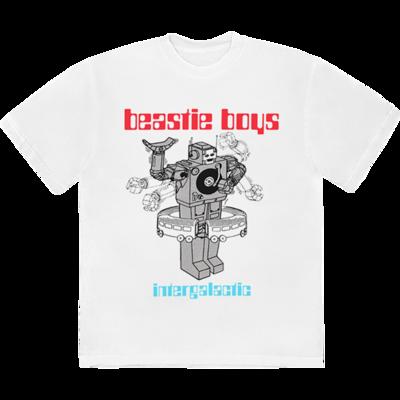 Beastie Boys: <b>WHITE INTERGALACTIC T-SHIRT</b>