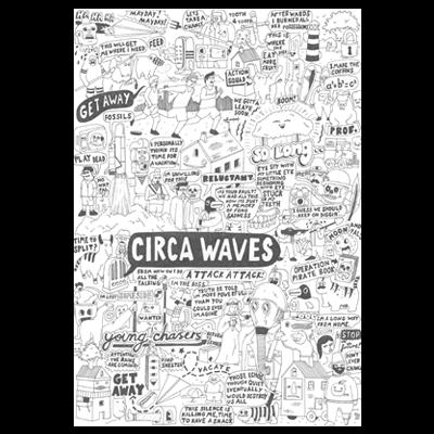 Circa Waves: A2 Print