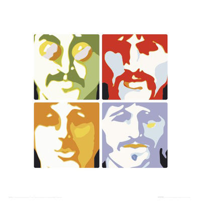 The Beatles: Sea of Science High Quality Print 40 x 40cm