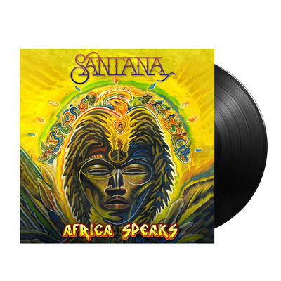 Santana: AFRICA SPEAKS LP