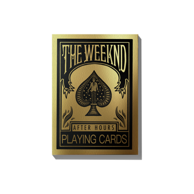 The Weeknd: AFTER HOURS PLAYING CARDS
