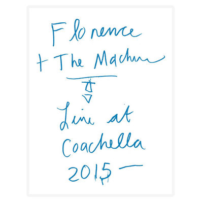 Florence + The Machine: Coachella 2015 Print