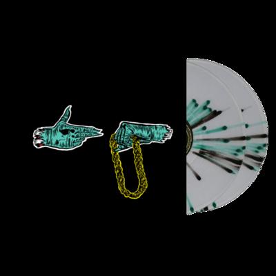 Run The Jewels: Run The Jewels: Green Splattered Vinyl
