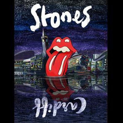The Rolling Stones: Cardiff Lithograph