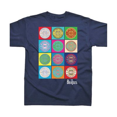 The Beatles: Sgt Pepper Multi T-Shirt
