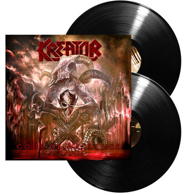 Kreator: Gods Of Violence: Ltd. Edition Gatefold + Signed Insert