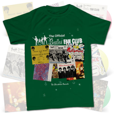 The Beatles: Official Fan Club T-Shirt