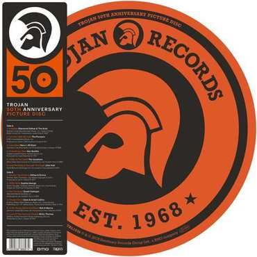 Various Artists: Trojan Records 50th Anniversary Picture Disc
