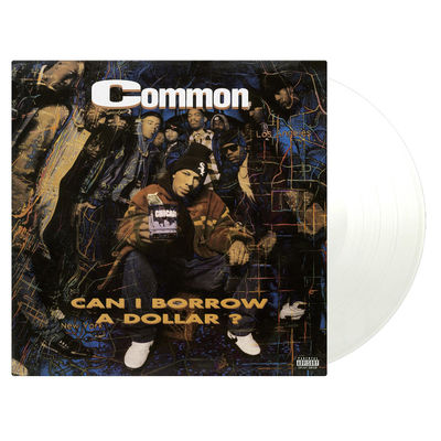 Common: Can I Borrow A Dollar: Limited Transparent Vinyl