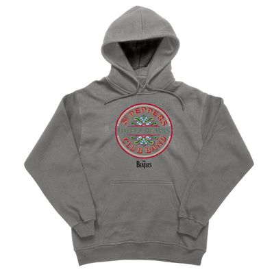 The Beatles: Lonely Hearts Hoodie Charcoal